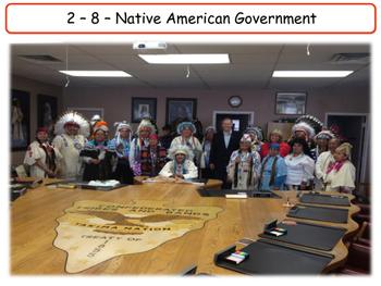 United States - Government & Civics - Unit 8 - Native Amer