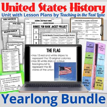 United States History GROWING Bundle