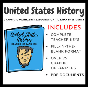 United States History Graphic Organizers: Exploration-Civi