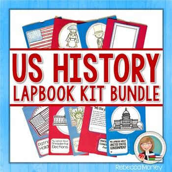 American History Lapbook Bundle