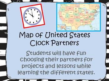 United States Map - Clock Partners -