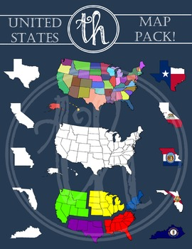 United States Map Pack