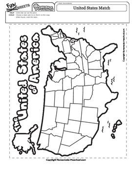 United States Match Map