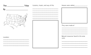 United States Native American Pamphlet