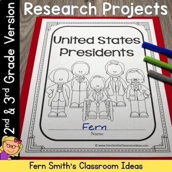 Presidents' Day - United States Presidents Book for 2nd an