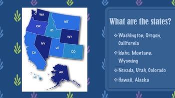 United States Regions Presentations Bundle