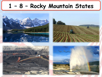 United States Regions - Section 8 - The Rocky Mountain States