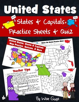 States and Capitals Quiz