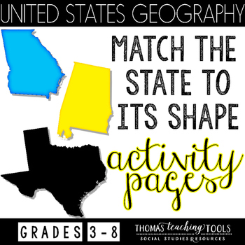 United States: States and Shapes Activity