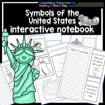 United States Symbols - Interactive Notebook