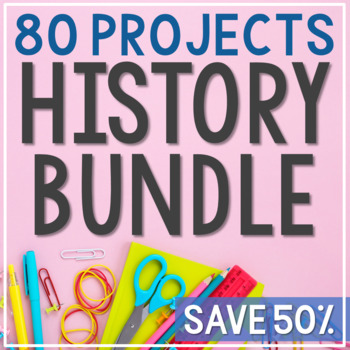 HUGE USA Bundle, Interactive Notebook, Presidents, State M