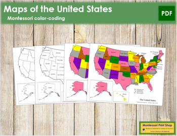 United States of America Control Maps and Masters