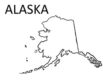 United States of America State Coloring Pages