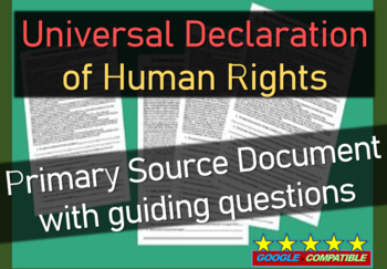 Universal Declaration of Human Rights (United Nations 1948