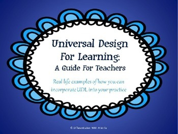 Universal Design For Learning: A Guide For Teachers