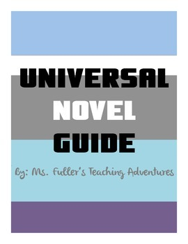 Universal Novel Guide: Can be used with any book
