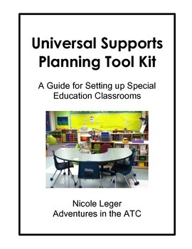 Universal Supports Planning Kit: A Guide for Special Educa