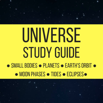 Universe Study Guide or Review