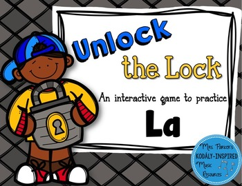 Unlock the Lock: Aural Interactive Game {La}