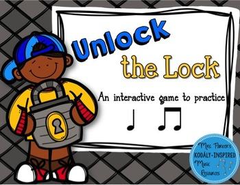 Unlock the Lock: Aural Interactive Game {Ta Ti-Ti}