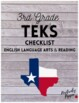 3rd Grade TEKS Checklist (6 Weeks Checks)