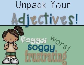 Adjectives Lesson Plans: A Week of Fun with Adjectives - C