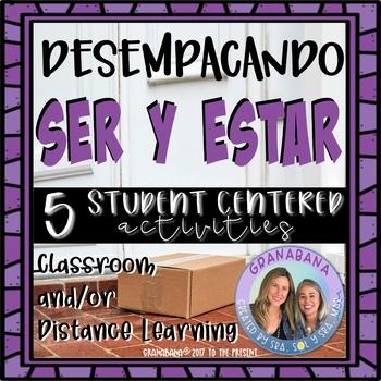 Unpacking Conjugations SER y ESTAR