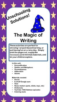 Unschool Solutions Writing Magic