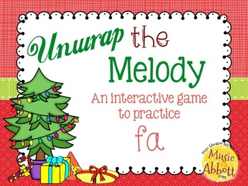 Unwrap the Melody: 3 interactive PDF games for practice fa