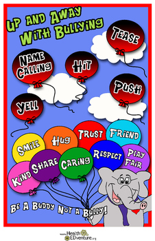 Up And Away With Bullying Poster