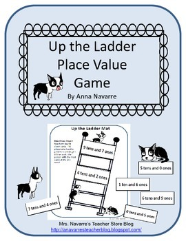 Up the Ladder Place Value Game