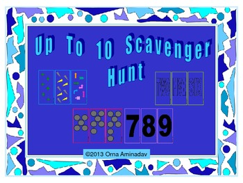 Up to 10 Scavenger Hunt