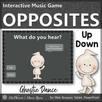 Up vs Down - Ghostie Dance Interactive Music Game {melodic