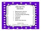 2016 3rd Grade Oklahoma Language Arts Standards Dot design
