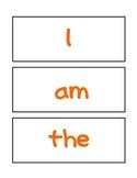 Updated Kindergarten Word Wall