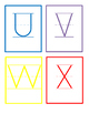 Upper Case Letter Cards _ Colorful FREEBIE