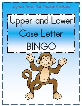 Upper Case and Lower Case BINGO