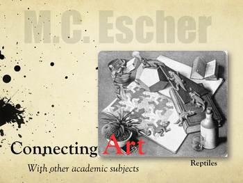 Upper Elementary Art Lessons: Escher Tessellations and Pri