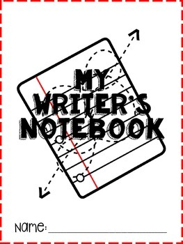Upper Grades Writing Notebook Pack
