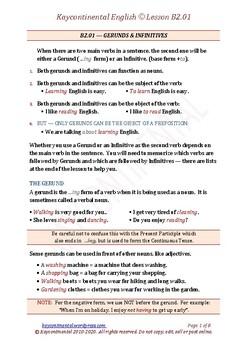 Upper Intermediate - Lesson B2.01