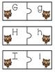 Upper & Lower Case Match Literacy Center - Owl Themed