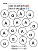 Upper and Lower Case Letter Identification Practice