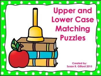Upper and Lower Case Letter Match