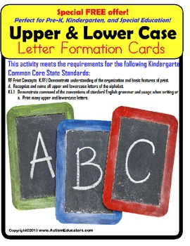 Upper and Lowercase Letter Formation Writing Guide Kinderg