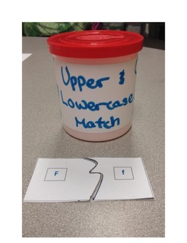 Upper and Lowercase Match