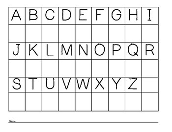 Uppercase Alphabet Recognition Practice and Assessment