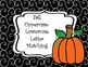 Uppercase - Lowercase Letter Matching Fall Themed Pumpkin