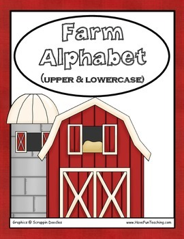 Uppercase and Lowercase Alphabet Letter Matching Activity