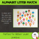 Uppercase and Lowercase Alphabet Letter Match Up Cards - I