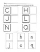 Alphabet Recognition / Uppercase and Lowercase... by Kelly